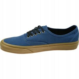 Vans Ua Authentic M VN0A38EMU4C1 shoes blue 1