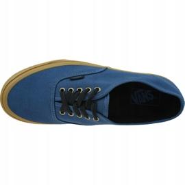 Vans Ua Authentic M VN0A38EMU4C1 shoes blue 2