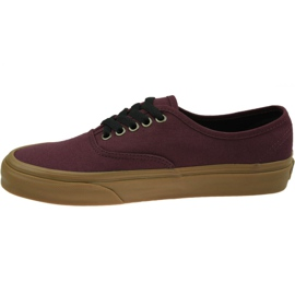 Vans Authentic M VN0A38EMU5A1 shoes red 1