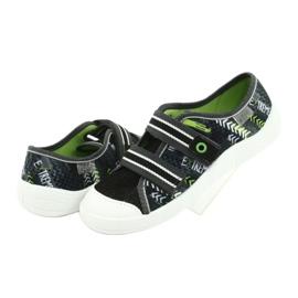 Befado children's shoes 672Y069 black grey green 4