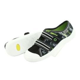Befado children's shoes 672Y069 black grey green 5
