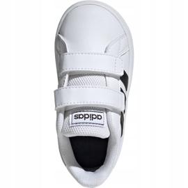 Adidas Grand Court I Jr EF0118 shoes white 2