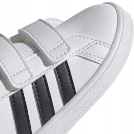 Adidas Grand Court I Jr EF0118 shoes white 3