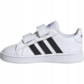 Adidas Grand Court I Jr EF0118 shoes white 4