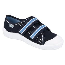 Befado children's shoes 672Y049 navy blue 1