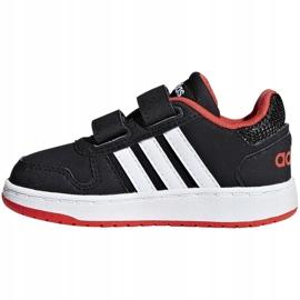 Adidas Hoops 2.0 Cmf I Jr B75965 shoes black 2