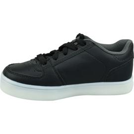Skechers Energy Lights Jr 90601L-BLK shoes black 1