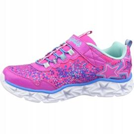 Skechers Galaxy Lights Jr 10920L-NPMT shoes pink 1