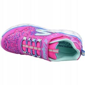 Skechers Galaxy Lights Jr 10920L-NPMT shoes pink 2