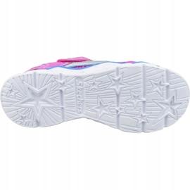 Skechers Galaxy Lights Jr 10920L-NPMT shoes pink 3