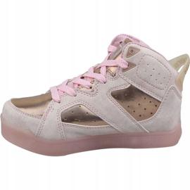 Skechers E-Pro II Lavish Lights Jr 20061L-LTPK shoes pink 1