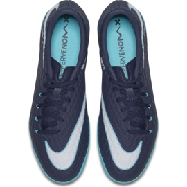 Indoor shoes Nike HypervenomX Phelon Iii Ic navy multicolored 3