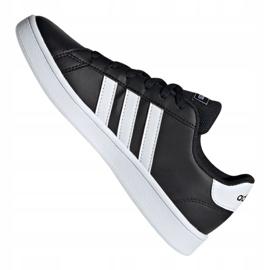 Adidas Grand Court Jr EF0102 shoes black 1