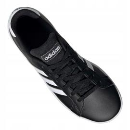 Adidas Grand Court Jr EF0102 shoes black 3