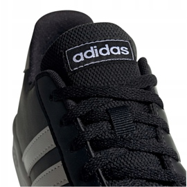 Adidas Grand Court Jr EF0102 shoes black 4