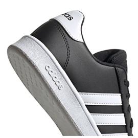 Adidas Grand Court Jr EF0102 shoes black 5
