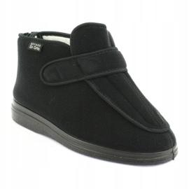 Befado women's shoes pu orto 987D002 black 2