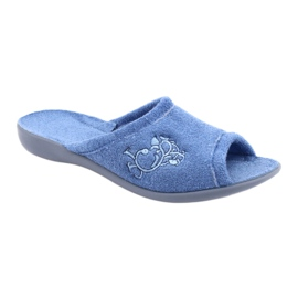 Befado women's shoes pu 256D003 blue 2