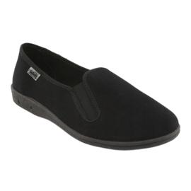 Befado men's shoes pvc 001M060 black 2