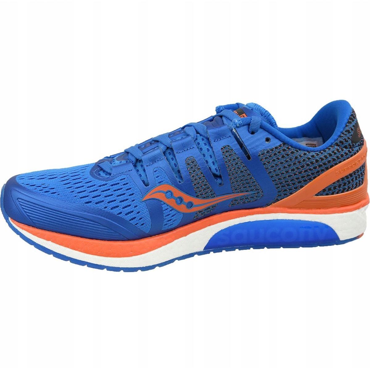 saucony shoes blue