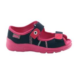 Befado children's footwear 969X105 pink navy 1