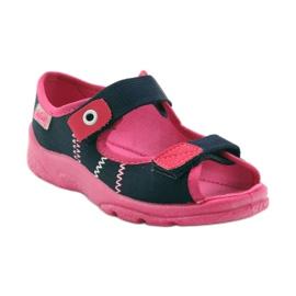 Befado children's footwear 969X105 pink navy 2