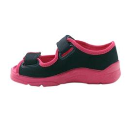 Befado children's footwear 969X105 pink navy 3