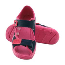 Befado children's footwear 969X105 pink navy 4