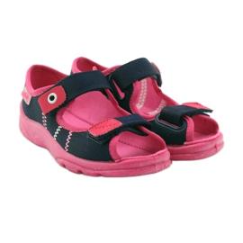 Befado children's footwear 969X105 pink navy 5