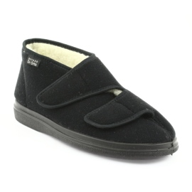 Befado men's shoes pu 986M011 black 2