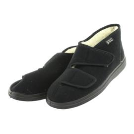 Befado men's shoes pu 986M011 black 4