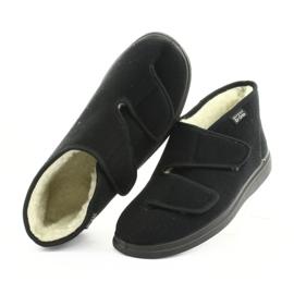 Befado men's shoes pu 986M011 black 6