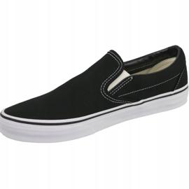 Vans Classic Slip-On Veyeblk shoes black 1