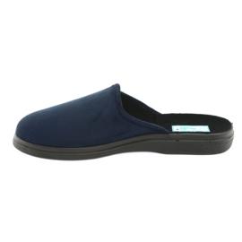 Befado men's shoes pu 125M006 navy 3