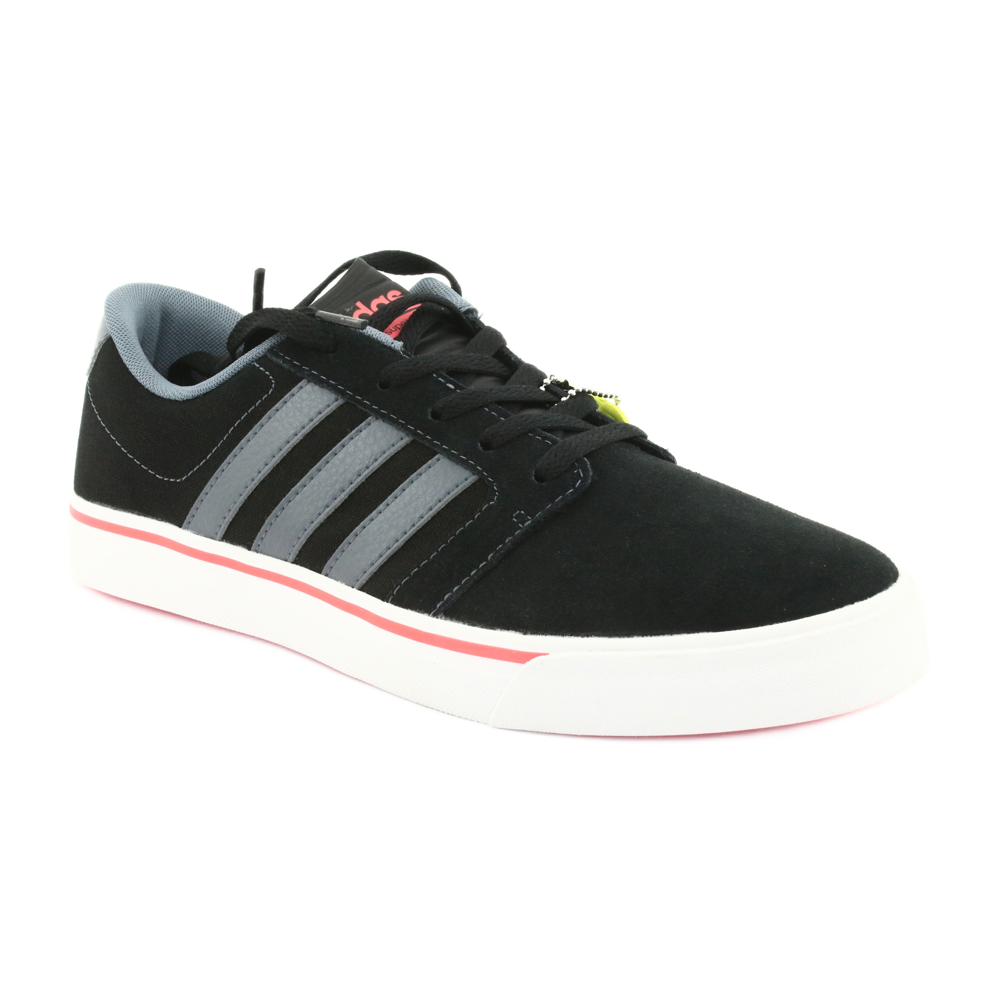 Adidas Cloudfoam Super Skate M AW3896 shoes black orange grey