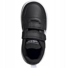 Adidas Tensaur I Jr EF1102 shoes black 1