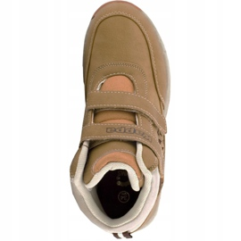 Kappa Bright Mid K Jr 260239K 4141 shoes brown 1