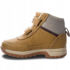 Kappa Bright Mid K Jr 260239K 4141 shoes brown 2