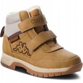 Kappa Bright Mid K Jr 260239K 4141 shoes brown 3