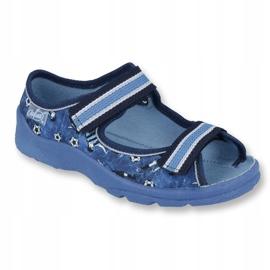 Befado children's shoes 969X141 navy blue 1