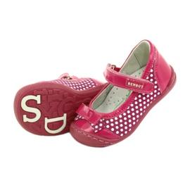 Girls' ballerinas Ren But 1405 pink white 5
