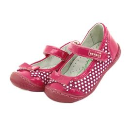 Girls' ballerinas Ren But 1405 pink white 3