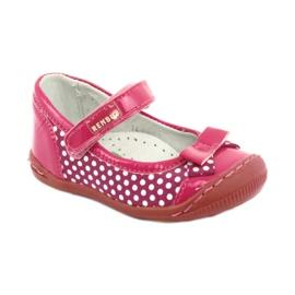 Girls' ballerinas Ren But 1405 pink white 1