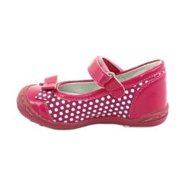 Girls' ballerinas Ren But 1405 pink white 2