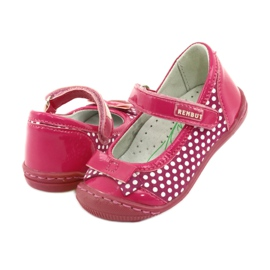 Girls' ballerinas Ren But 1405 pink white 4