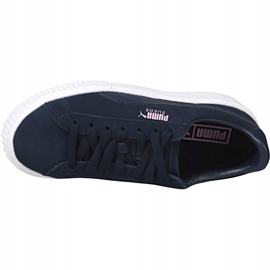 Puma Suede Platform Jr 363663-03 shoes navy 2