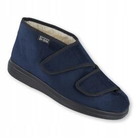 Befado women's shoes pu 986D010 navy blue 2