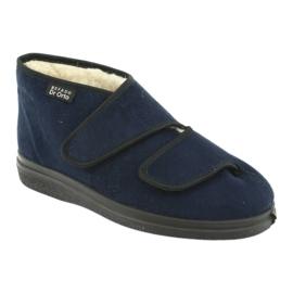 Befado women's shoes pu 986D010 navy blue 3