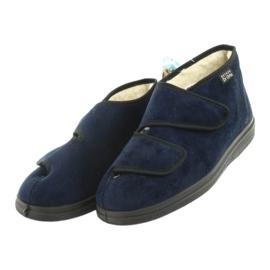 Befado women's shoes pu 986D010 navy blue 4