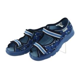 Befado children's shoes 969X141 navy blue 4